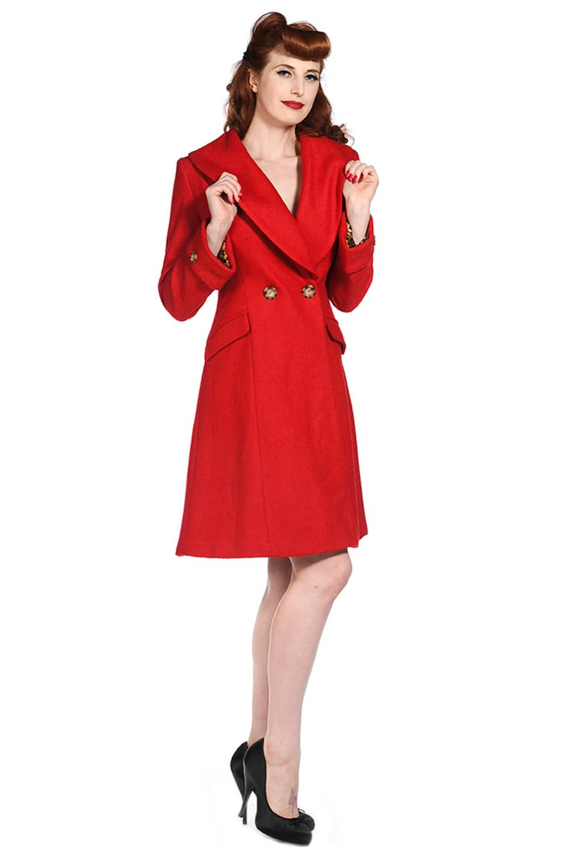 banned apparel vintage coat black and 120901