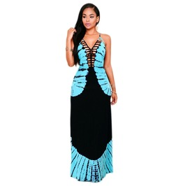 Boho Maxi Long Evening Party Dress Beach Dresses Sundress