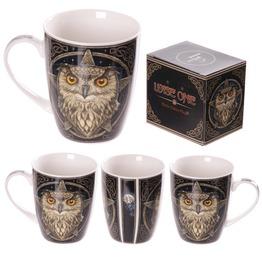 Egg N Chips London New Bone China Wise Owl Design Mug