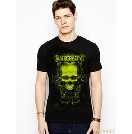 Black Gothic Fashion Mysterious Color T Shirt For Men
