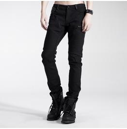 Punk Rave Men's Gothic Black Pants K 154