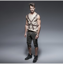 Punk Rave Steampunk Men's Shorts K 242