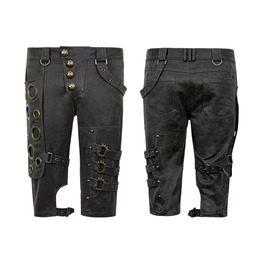 Punk Rave Steampunk Men's Shorts K 242
