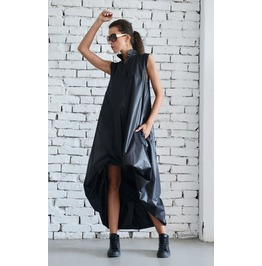 Maxi Black Dress/ Plus Size/ Oversize Dress/ Kaftan / Black Long Dress