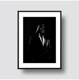 Smart Dressed Sith Darth Vader 11x14 Or A3 Size Print