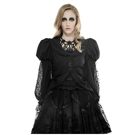 Punk Rave Lolita Women's Lace Puff Sleeve Coat Ly 055