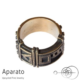 Arrow Relic Brass Steampunk Ring