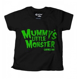 Mummy's Little Monster Cartel Ink Kids Tshirt