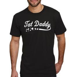 """Men's 100% Cotton """"Tat Daddy Skate"""" Tee"""