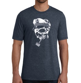 "Men's Tri Blend ""Abandon Ship"" Tee"