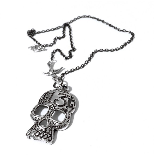 rebelsmarket_lucky_13_silver_sugar_skull_necklace_necklaces_4.jpg
