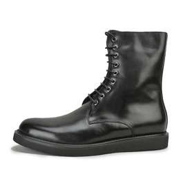 Classic Military Style Boot With Laces