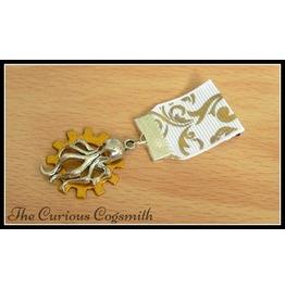 Gold Cog Medal Cthulhu Medal