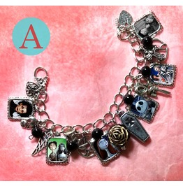 Tim Burton Timeline Collection Beetlejuice Charm Bracelet