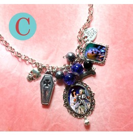 Tim Burton Timeline Collection Beetlejuice Charm Necklace