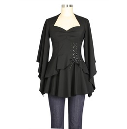 Steampunk Victorian Romance Long Sleeve Top Or Jacket 74710 Ct
