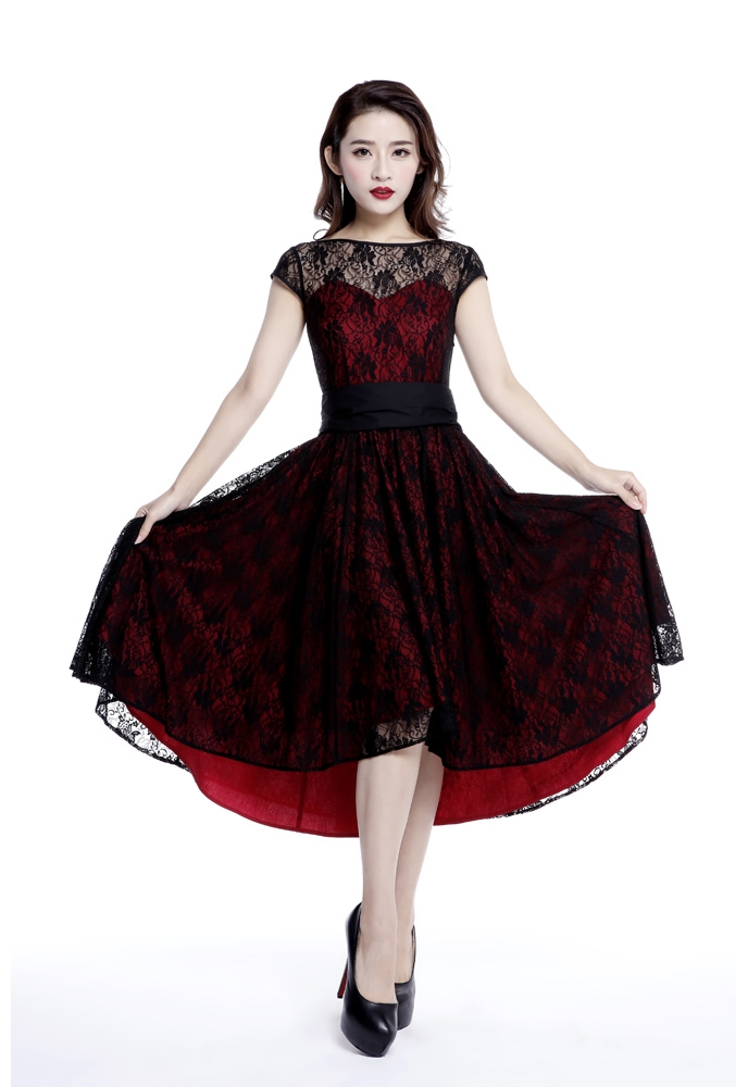 Red And Black Victorian Dress Dress Ideas