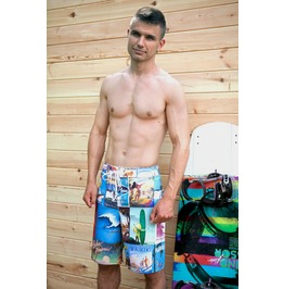 Surf History Men's Boardshorts