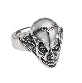 M'era Luna Evil Clown Unisex Gothic Ring By Alchemy Gothic