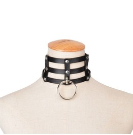 Bondage Choker With Ring