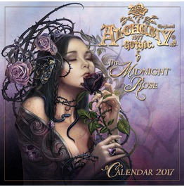 The Midnight Rose Gothic Night Of Illusion 2017 Calendar