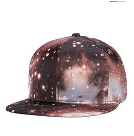 da89c25f6c4 Fashion Starry Sky Baseball Cap Men Hip Hop Dancing Cap