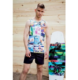 Surf History Men's Thermoactive Fitness Tank Top