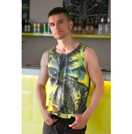 Miami Men's Thermoactive Fitness Tank Top