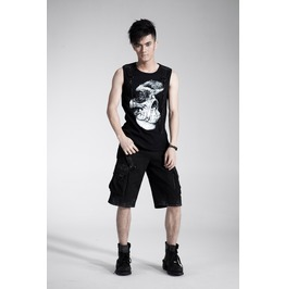 Men's Black Gothic Short