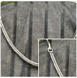 Box Weave Wallet Chain