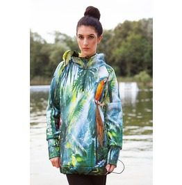 Jungle Call Hoodie With Replaceable Mask