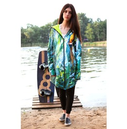Lightshell Jungle Call Women's Parka 3 In 1 Jacket, Backpack, Pillow