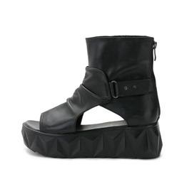 Badass Goth Platform Sandals