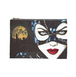 Cat Woman Cosmetic Bag Clutch