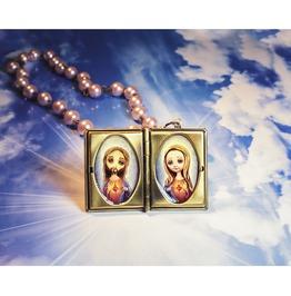 Jesus And Mary Sacred Heart
