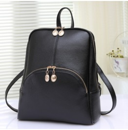 Pu Handbag Shoulder Bag Backpack Schoolbag Fashion Female College Wind