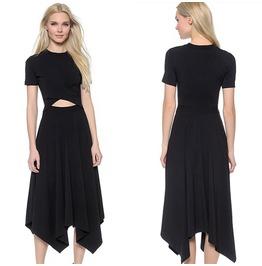 Boho Maxi Dress Summer Solid Long Dress Evening Cocktail Party Dress