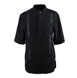 Mens Short Sleeve Shirt With Straps