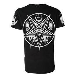 Pentagram Baphomet T Shirt Occult Satanic Goth Size X L