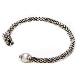 Norse Dragon Bracelet The Vikings 925 Sterling Silver Viking Honor Bravery