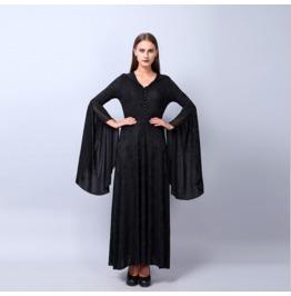 Summer New Women's Fashion Punk Dark Hooded Knit Dress Ladies Skirt