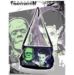 Dr. Frankenstein Frankenstein And Bride Messenger Bag