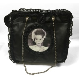 Dr. Frankenstein Bride Of Frankenstein Vinyl Hand Bag Drfrk40