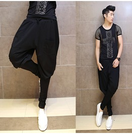 New Arrival Men's Casual Long Harem Pants