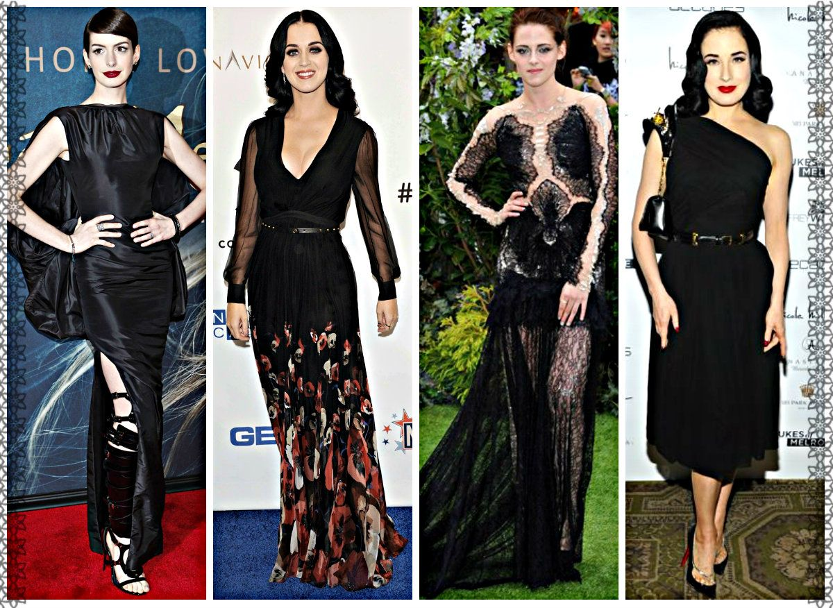 Top 5 Female Celebrities Rocking Glam Goth Look