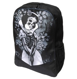 Snow White Skeleton Family Board Backpack Rucksack Laptop Bag