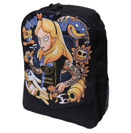 Alice Tattoo Family Board Backpack Rucksack Laptop Bag