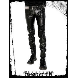 Dr. Frankenstein Black Vinyl Pants
