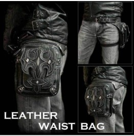 Men And Women Purses Pu Leather Punk Retro Messenger Bag M Bag