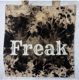 Freak Tie Dye Tote Bag Wicca, Esoteric, Circus, Gothic, Boho, Gypsy, Ahs